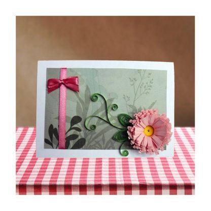 Хризантема в розово
