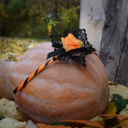 Диадема Pumpkin rose